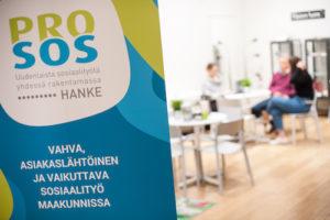 PRO-SOS -hankkeen esitteen kansi