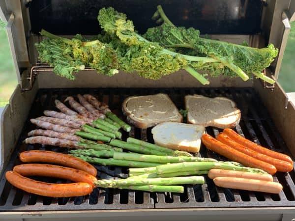 Kasviksia grillissä