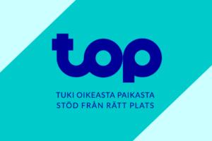 TOP Tuki oikeasta paikasta Stöd från rätt plats