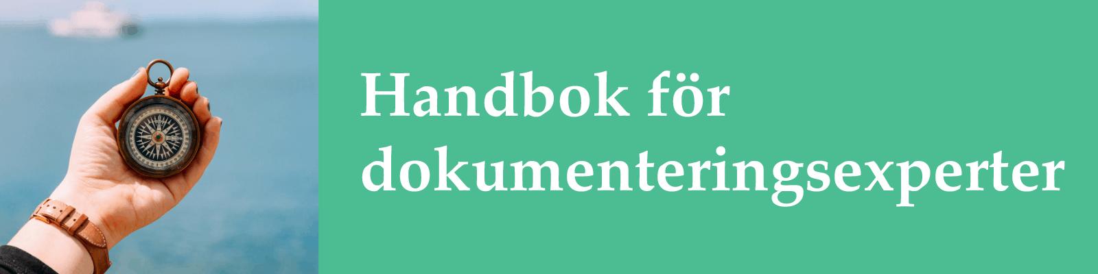 Handbok för dokumenteringsexperter